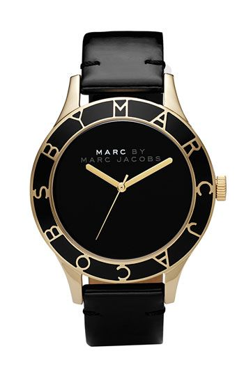 Black and Gold. Marc by Marc Jacobs.