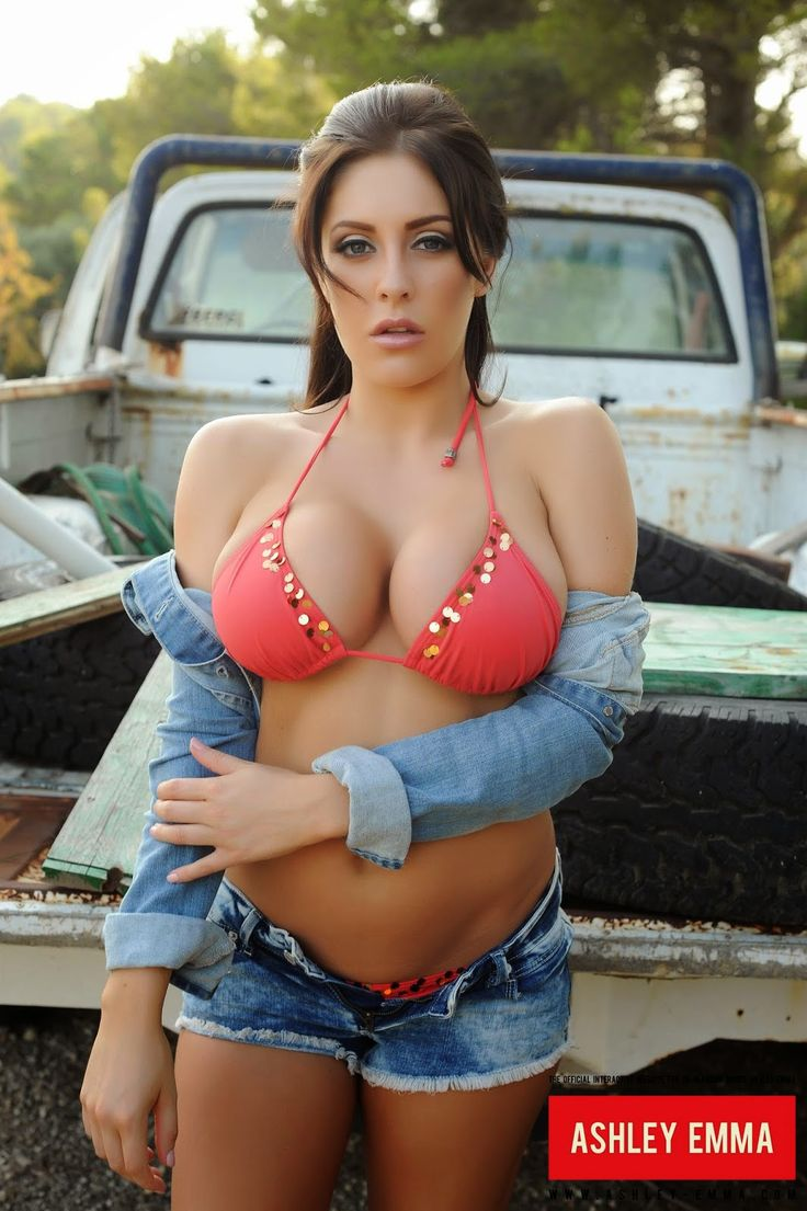Ashley Emma  Hammer  Sexy Kurven, Schne Hintern, Hot-3894