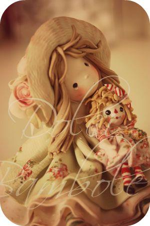 Dolci Bambole , porcelana fria