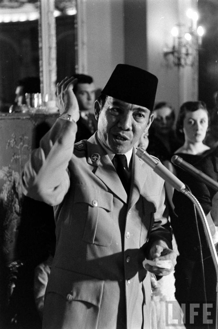Soekarno, when he spoke everybody listened..