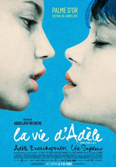 La vie d'Adèle de Abdellatif Kechiche Affiche