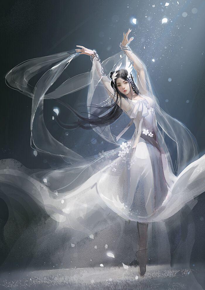 балет фэнтези картинки нее