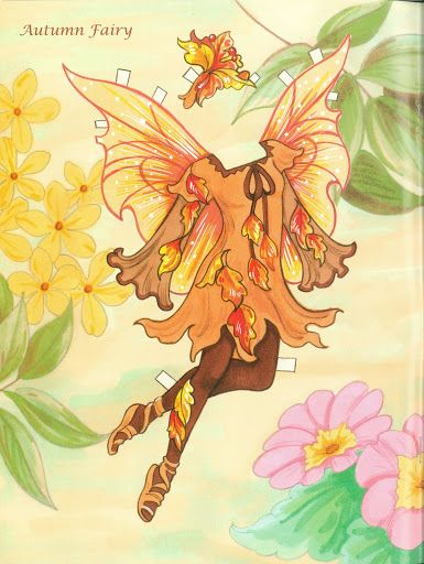 Fairy Paper Doll 06