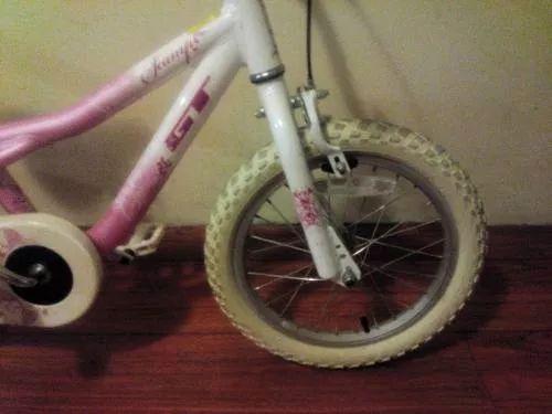 bicicleta niña,  gt  (motociclo) rodado 16, rosada