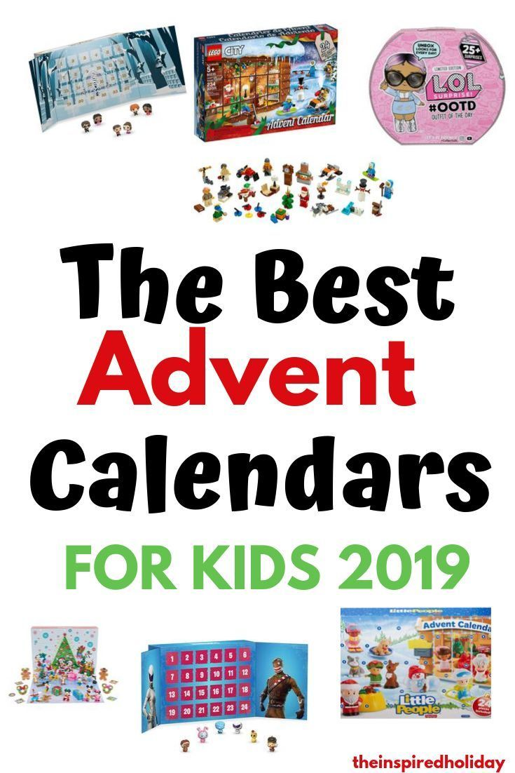 Countdown To Christmas With The Best Advent Calendars For Kids