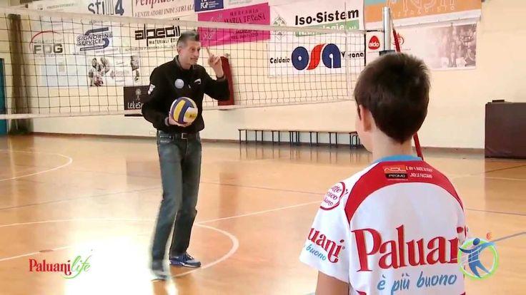I fondamentali della pallavolo: il palleggio - con Andrea Lucchetta