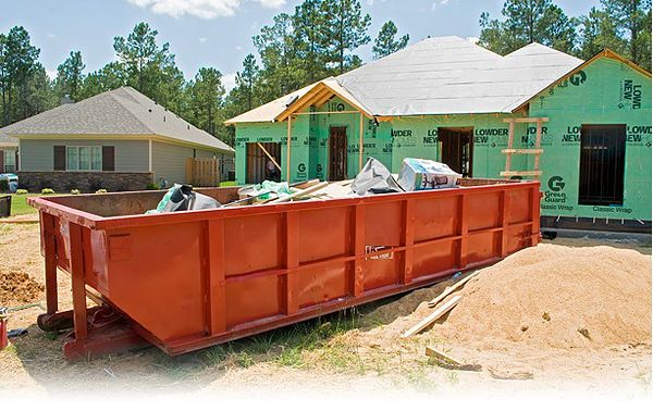 Construction Dumpsters For Your Contractor Needs Our Construction Dumpster Rentals Can Help You Remove He Dumpster Rental New Home Construction Dumpster