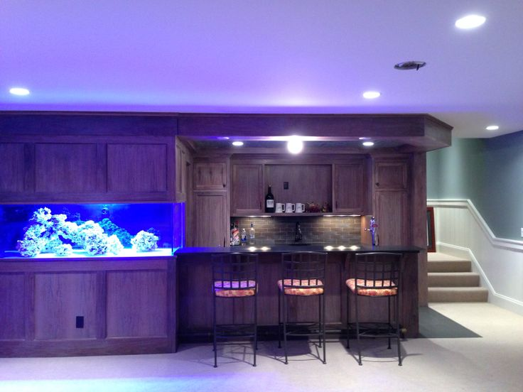 300 gallon aquarium, nearly ready for water!  Rockscaping complete!