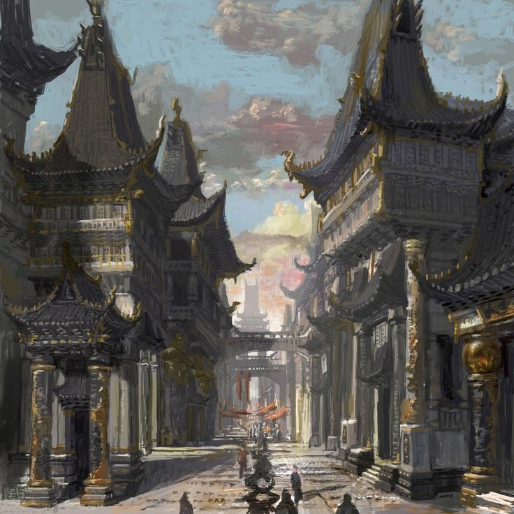 Blade and Soul - Town