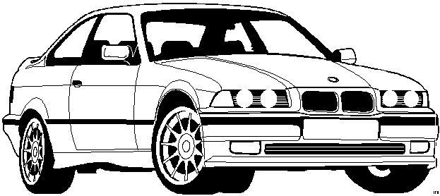 Bmw Malvorlagen Autos
