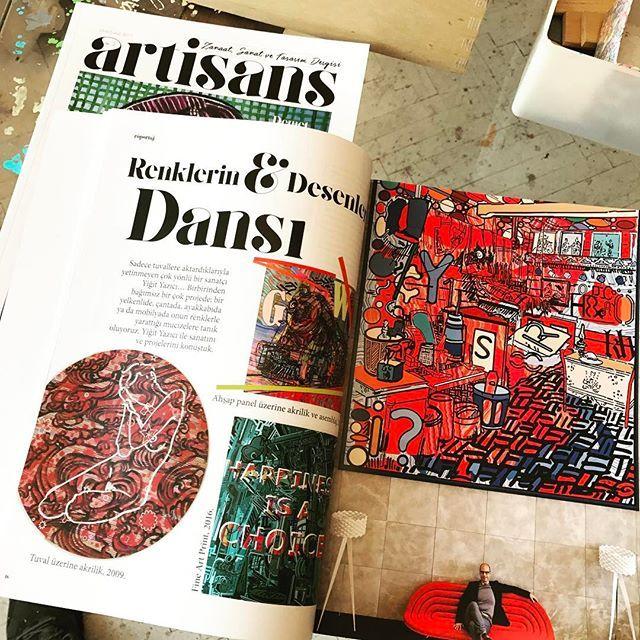 #yigityazici #artisansdergi tesekkurler