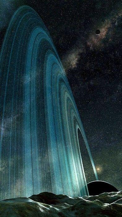 planetary rings...