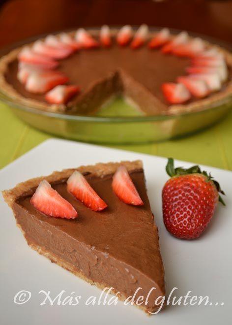 "Más allá del gluten...: Torta de Mousse de Chocolate ""Cruda"" (Receta GFCFSF, Vegana, RAW)"