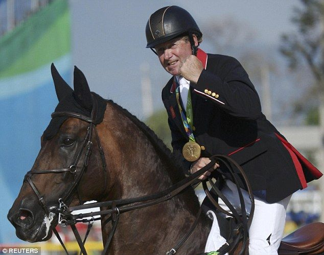 Nick Skelton secured Britain's first ever gold in individual showjumping at the…