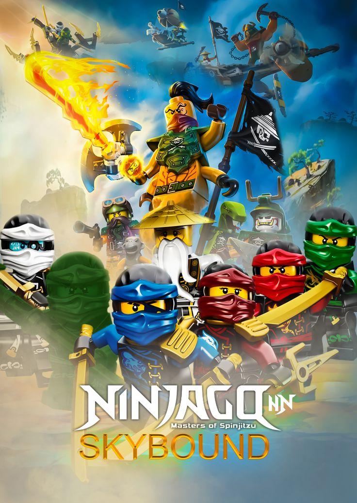 Lego Ninjago Skybound Poster In 2021 Lego Ninjago Lego Ninjago Skybound