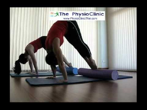 Pilates Roller Foam at ThePhysioClinic 17Jul14 Epi03 - YouTube