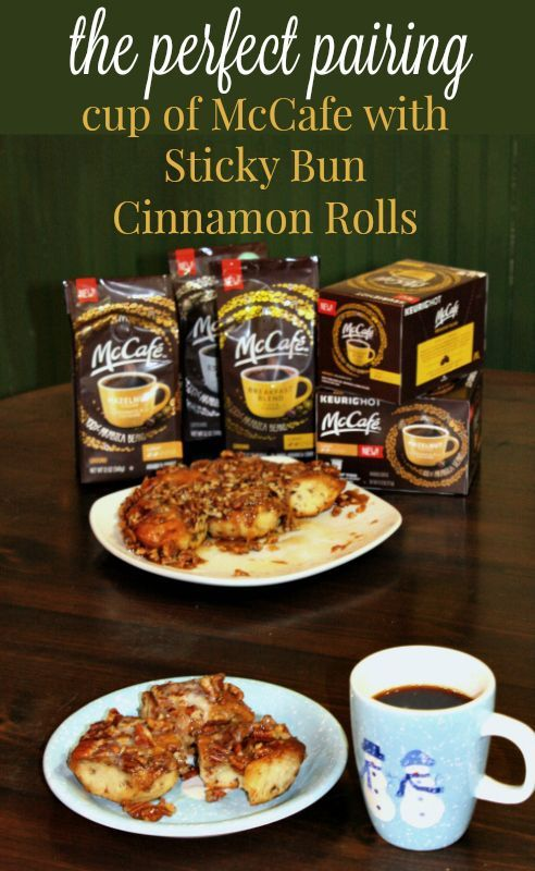 The Perfect Pairing - McCafe Coffee at Home with Sticky Buns