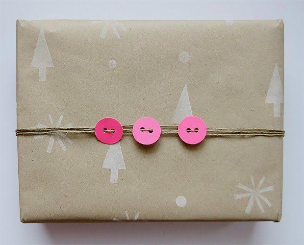 DIY // Gestempeltes Geschenkpapier