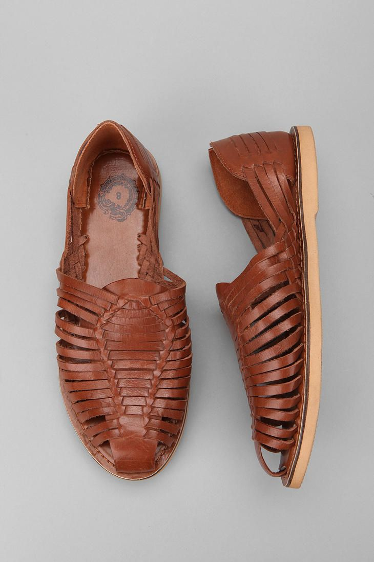 May just need these for spring/summer. Leather Huarache Sandal. $44.