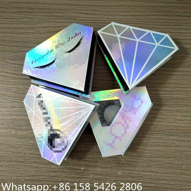 615d79a1736 Source Luxury Diamond Shape Lash Box 100% 3D Mink Eye Lashes Siberian Mink  Eyelashes on m.alibaba.com