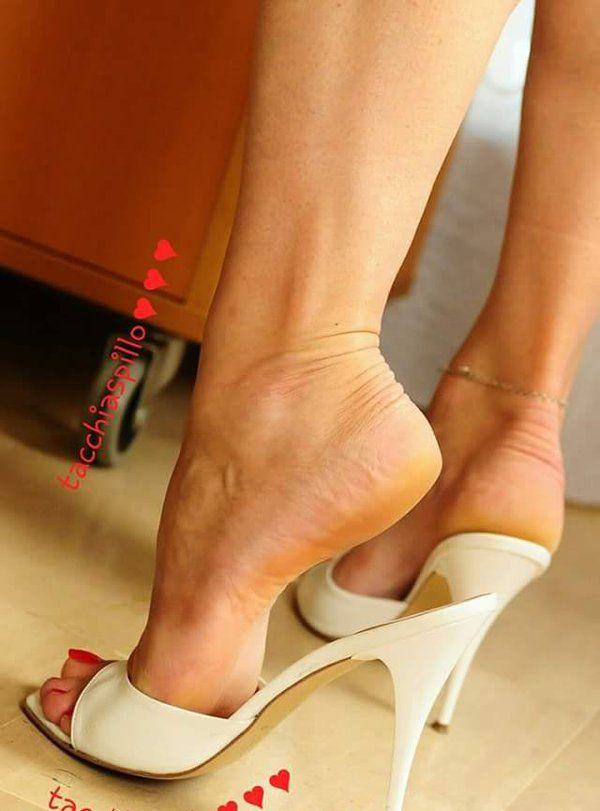 Sexy mule heels