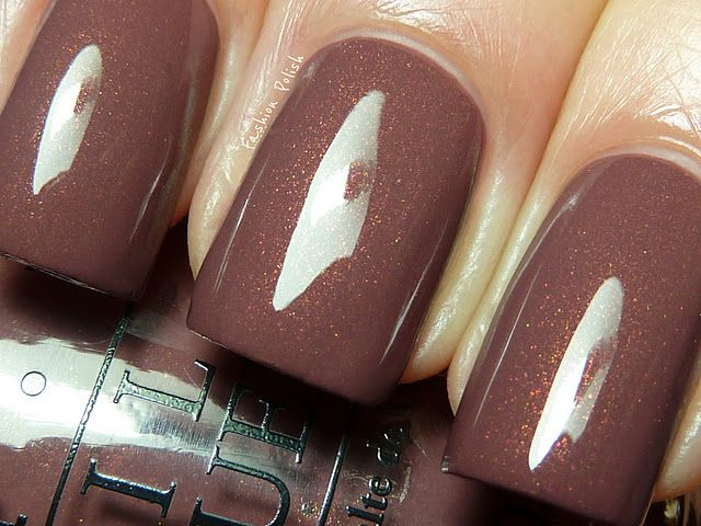 """OPI-""""Wooden Shoe Like to Know"""" - Spring/Summer 2012 Holland Collection"""