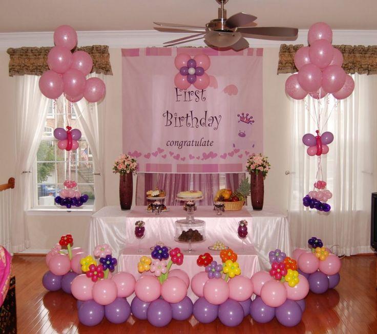 doğum günü masa süsleme
