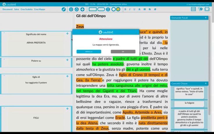 Lidiatext: creare mappe concettuali da testi
