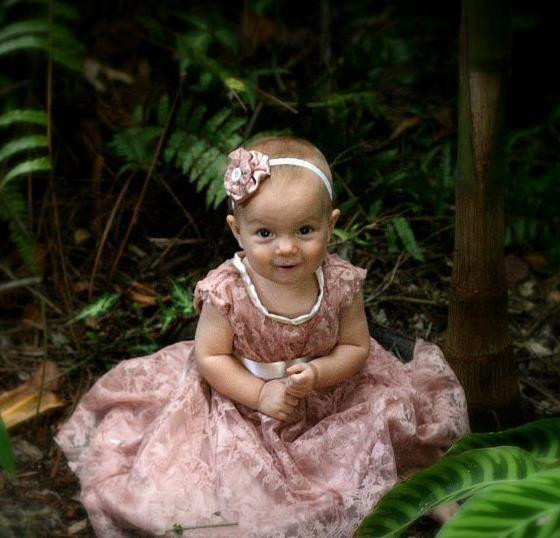 dedication/ naming day /christening dress with matching headband