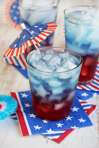 Layered Patriotic Punch - Our Best Bites