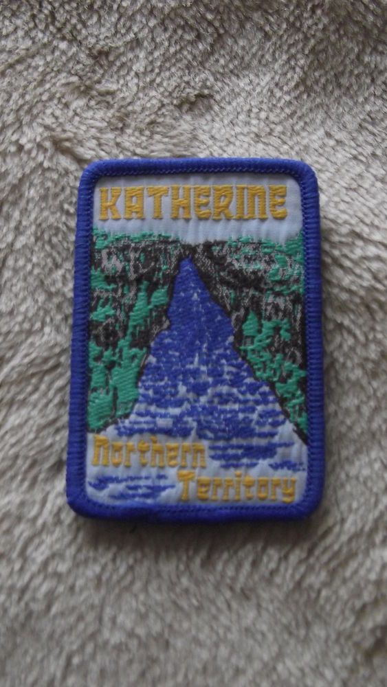 Great printed image - patch sold for $54! - CLOTH BADGE KATHERINE in Collectables, Pins, Badges, Patches, Patches | eBay