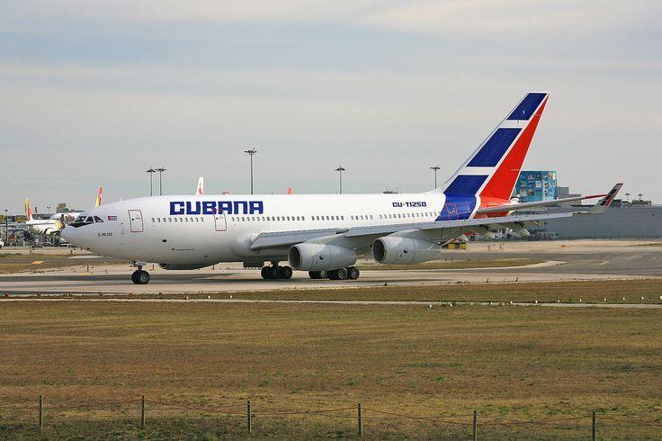 CU-T1250, Ilyushin IL 96-300 Cubana @ Lissabon LIS