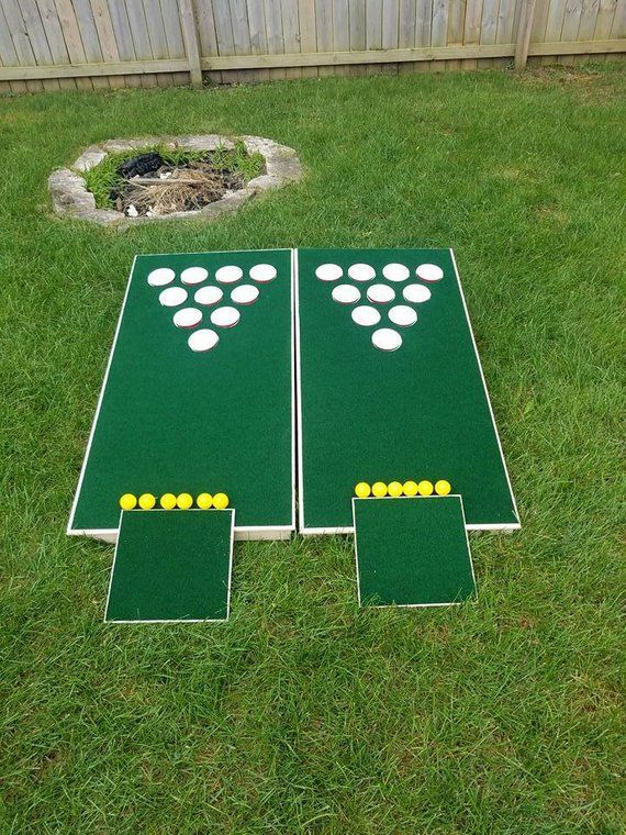 The REAL Beer Pong Golfhole- FREE SHIPPING! Cornhole Golf and Beer Pong in one! …
