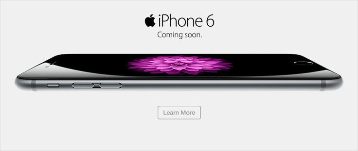 iPhone 6 and iPhone 6 Plus - we can't wait!