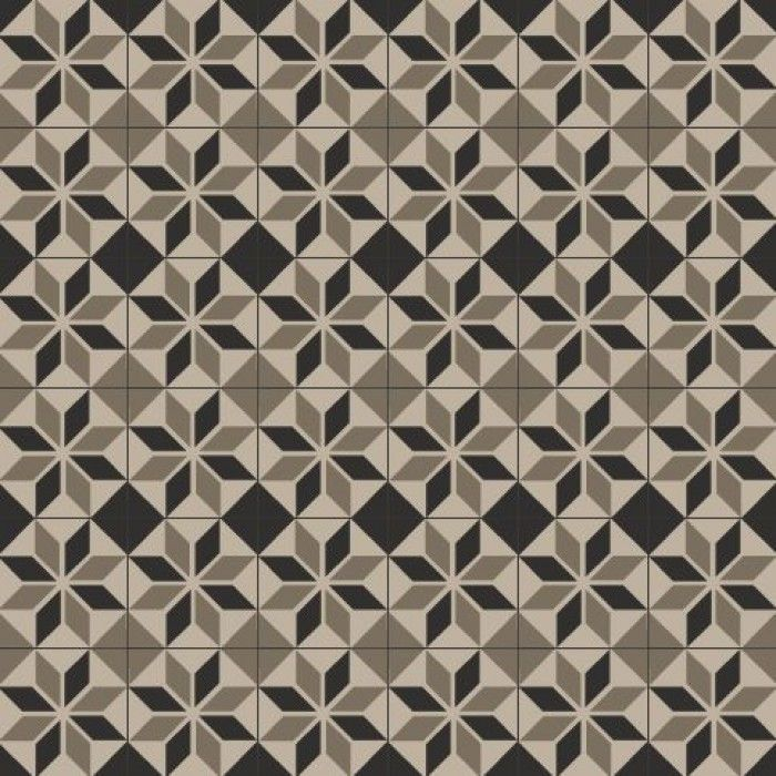 Alex Taupe 20x20 - cement tiles by David & Goliath.
