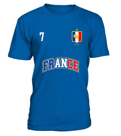 "# France Shirt Number 7 BACK Soccer Team Sports French Flag .  Special Offer, not available in shops      Comes in a variety of styles and colours      Buy yours now before it is too late!      Secured payment via Visa / Mastercard / Amex / PayPal      How to place an order            Choose the model from the drop-down menu      Click on ""Buy it now""      Choose the size and the quantity      Add your delivery address and bank details      And that's it!      Tags: No. 7 PRINTED ON BACK…"