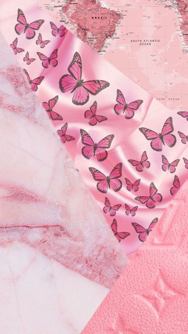 Pink Requested Wallpaper In 2020 Butterfly Wallpaper Iphone Pink Wallpaper Iphone Pink Wallpaper Vintage