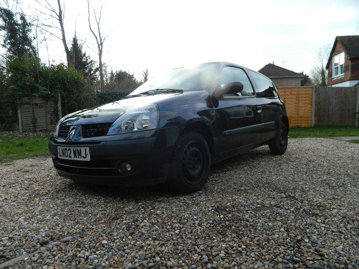 eBay: 2002 Renault Clio 1.2 Dynamique Spares Or Repairs H/G Failure Still Starts #carparts #carrepair