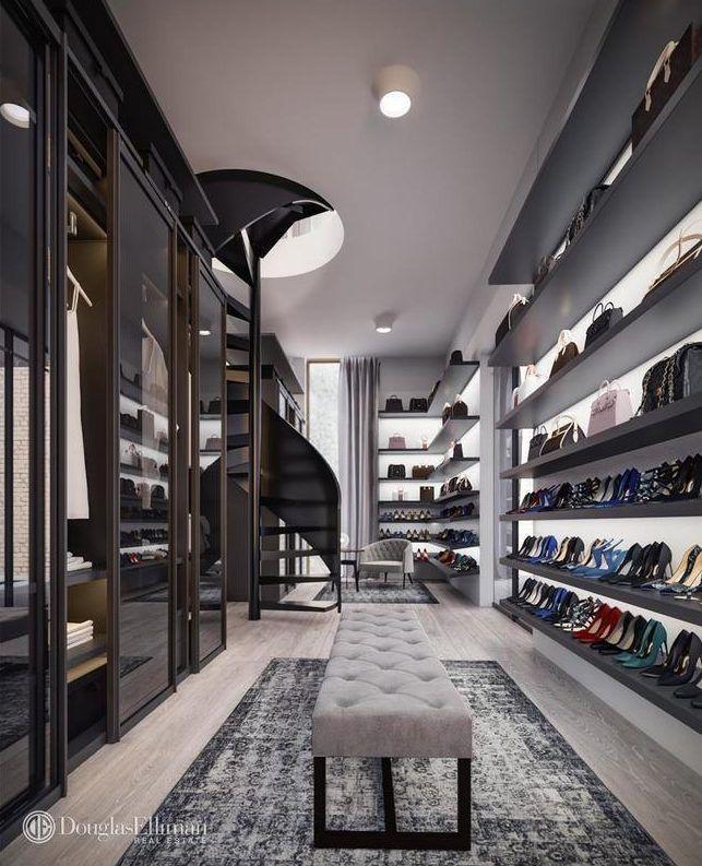 Maya Lin Designed Tribeca Mansion Lists For 35m Interior Design Perfect Closet Luxury Furniture