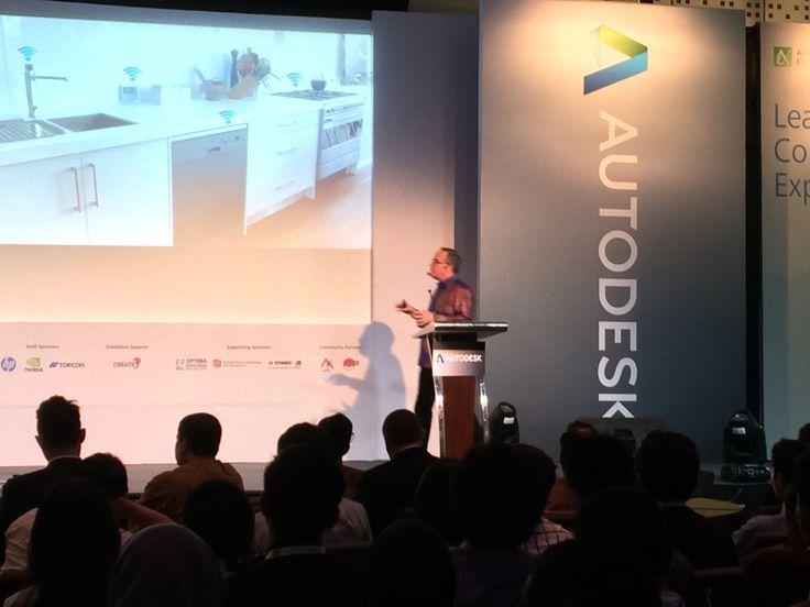 Autodesk University Extension Indonesia, Le Meridian Hotel, Jakarta, 13 November 2014.