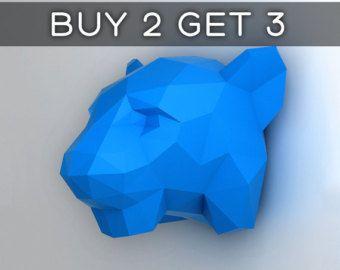 Licorne modèle 3D papercraft. Télécharger modèle par NokaPaperArt