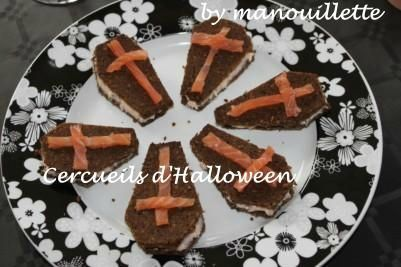 Cercueils d'Halloween