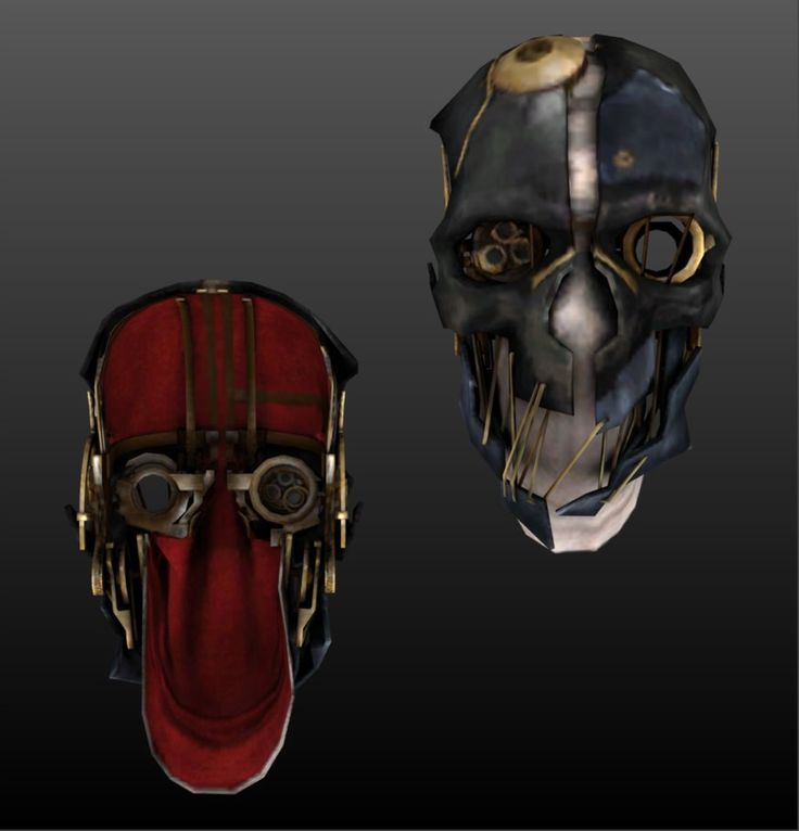 Ring In The Steampunk Decor To Pimp Up Your Home: Corvo Mask From Dishnored