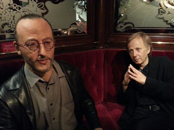 French actors Jean Reno and Fabrice Lucchini