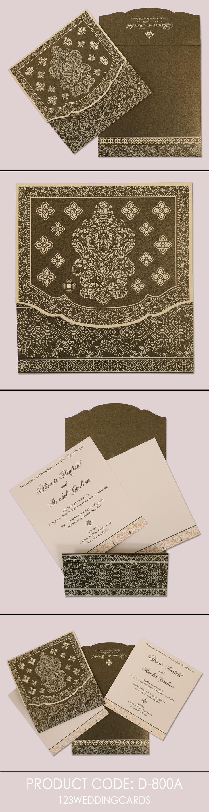 matter for wedding invitation in gujarati%0A Green shimmery screen printed wedding invitation   so   a