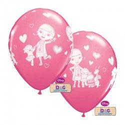 Balões de latex para festas de aniversário do tema Doutoura Brinquedos / Doc Mc Stuffins Latex Balloons.