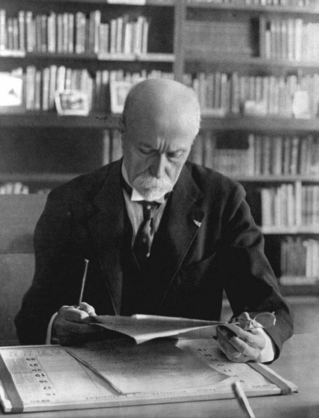 Tomáš Garrigue Masaryk, first president of Czechoslovakia