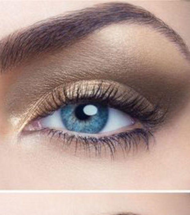 17 meilleures id es propos de maquillage yeux bleus sur. Black Bedroom Furniture Sets. Home Design Ideas