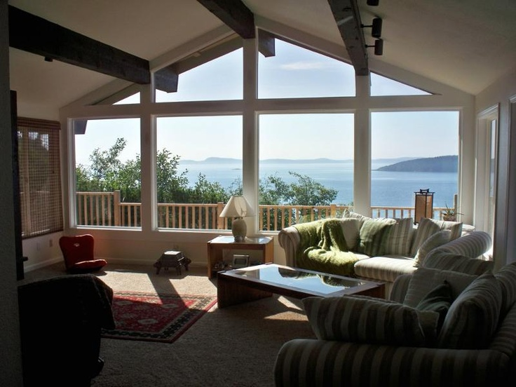 Beautiful window area with an even more beautiful view.