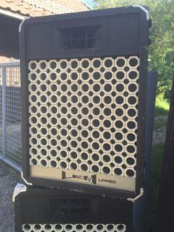 Lautsprecher/ Boxen LEM LPP 80 für Band/Veranstaltungen in Bayern - Gaißach | Weitere Audio & Hifi Komponenten gebraucht kaufen | eBay Kleinanzeigen